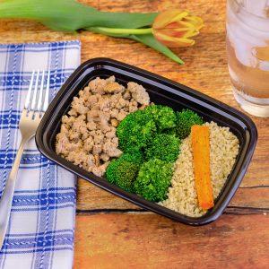 Bouillon Ground Turkey, Broccoli, Quinoa